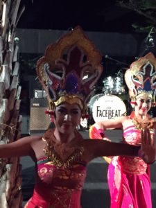 Last night in Bali. Old meets new via a 60's cover band. Throughly po-mo. And tons of fun. Next stop - Wales!