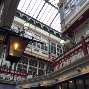 Back in Cardiff we explored lots of gorgeous covered laneways. In the Castle Arcade you can find Jones The Barber, Cardiff Violins and Friends of the Earth. And an excellent cafe called Barker.