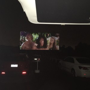 Coburg Drive-In is always fun in the van, even when the films make Absolutely No Sense (Zoolander 2)