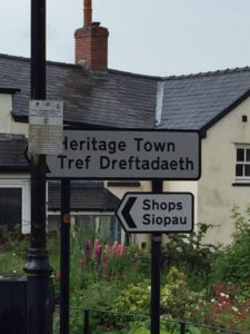 Blaenevon is a World Heritage listed town because of its mining history. This signage also proves that the 'si' in Sian is pronounced shhhh.