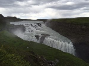 An Icelandic gamer's daughter threatened to throw herself off this waterfall if it was dammed for hydro-electric power. You go girl!